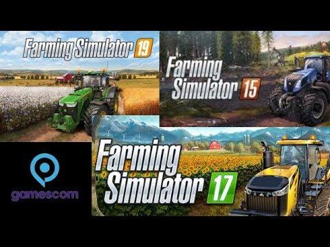 Fs19 Vs Fs17 Vs Fs15 Gamescom Trailers | Inspection of the