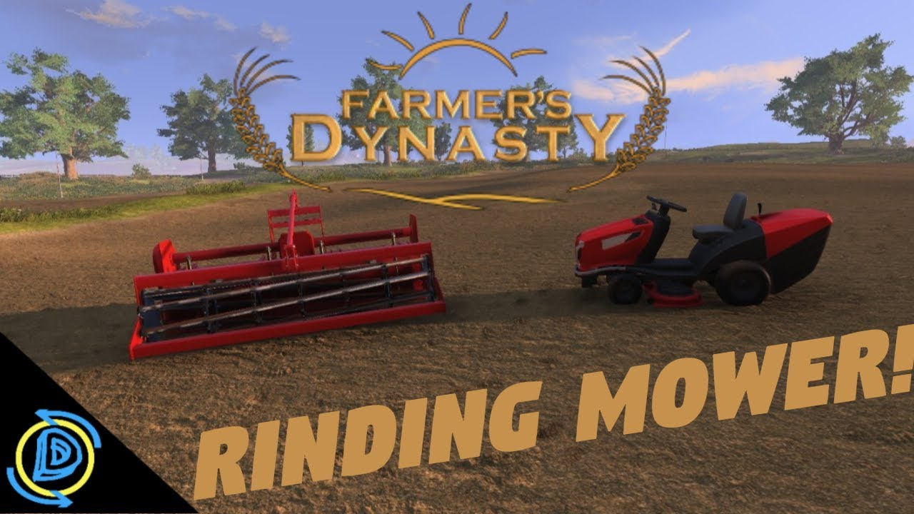 Farmers Dynasty Lawn Tractor Riding Mower Update