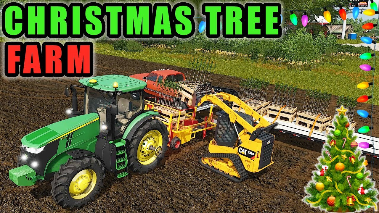 starting a christmas tree farm for the tourist we failed farming simulator 2017 farming simulator 19 mods download free