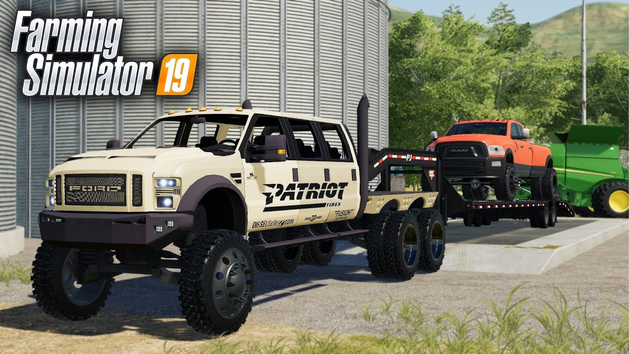 FS19- TIME FOR A NEW FARM TRUCK: HELLO F-550 SUPER SIX