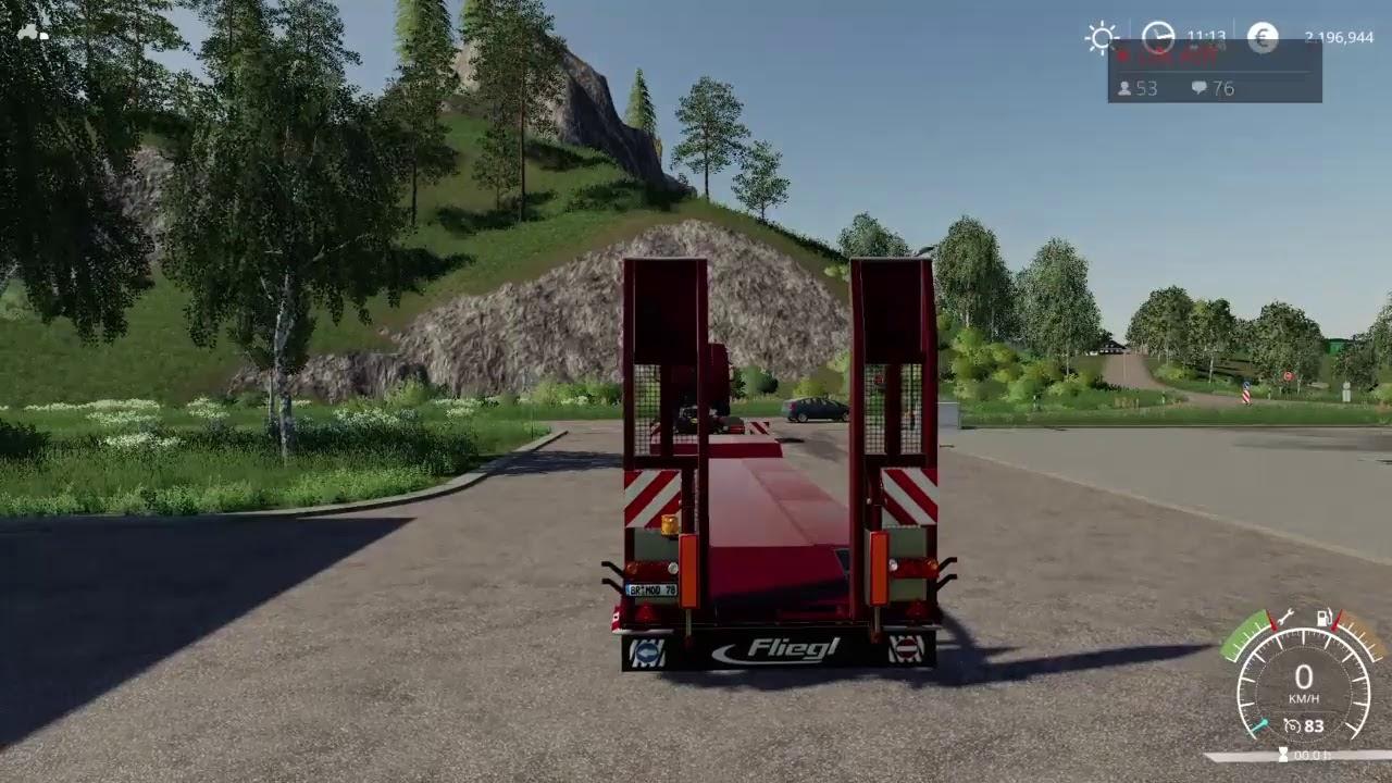 Fs19 ps4 old stream farm (nouveau mods ) | Farming Simulator