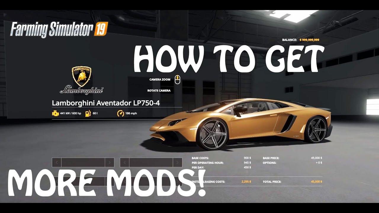 mods   modhub  farming simulator  easy method ps xbox