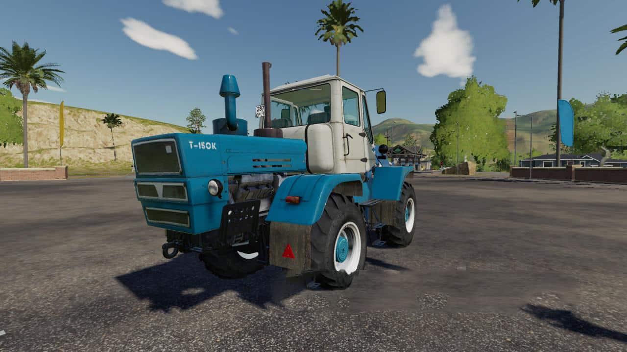 FS19 HTZ T-150K v1 1 0 0 | Farming Simulator 19 Mods