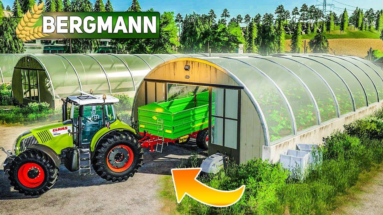 Ls Hof Bergmann Gew Chshaus In Betrieb Genommen Landwirtschafts Simulator