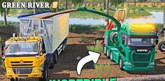 INCREDIBLE GRIFFIN TRUCK | Green River Farming Simulator 19 - Episode 14