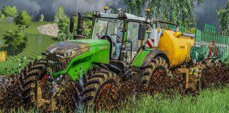 LS19: GÜLLE fahren im Matsch - Schlammschlacht auf dem Feld | FARMING SIMULATOR 19