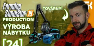 VÝROBA NÁBYTKU! | Farming Simulator 19 Production #24