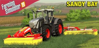 WE NEED MORE HAY Farming Simulator 19 Timelapse - Sandy Bay Seasons FS19 Ep 49