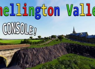 """CHELLINGTON VALLEY"" ON CONSOLE! Farming Simulator 19 MAP TOUR (Review) FS19."
