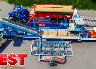 This mod will really help you | Farming Simulator 19 (Bead-laying machine Complex 65M2B3-K)