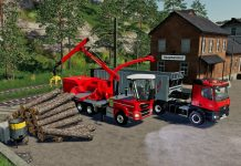 FS19 - Map Felsbrunn 385 - Forestry and Farming