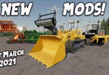 NEW MODS (Review) Farming Simulator 19 FS19 1st March 2021.