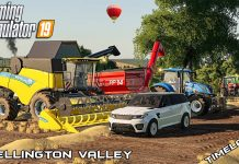 New farm, big harvest & carting grain | Chellington Valley | Farming Simulator 19 | Episode 1