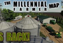 """THE MILLENNIAL FARMER MAP"" IS BACK! Farming Simulator 19 MAP TOUR (Review) FS19."