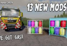 13 NEW MODS | I'VE GOT GAS! (Review) Farming Simulator 19 FS19 | 15th April 2021.