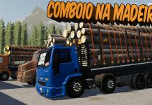 EXAGEREI NA CARGA DO 16-20 - COMBOIO DA MADEIRA NO FARMING 19 MODO ONLINE