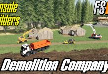 FS19  PS4/XBOX \HOUSE DEMOLITION// TIMELAPSE TCBO MCE MAP FARMING SIMULATOR MODS