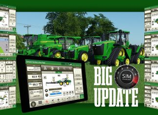 John Deere Screen Updates for Sim Dashboard - Farming Simulator 19