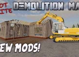 NEW MODS | Not Quite DEMOLITION MAN! (Review) Farming Simulator 19 FS19 | 12th April 2021.