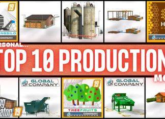 TOP 10 PRODUCTION MODS - Farming Simulator 19