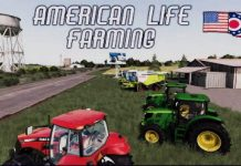 """AMERICAN LIFE FARMING"" FS19 MAP TOUR   NEW MOD MAP Farming Simulator 19 (Review)."