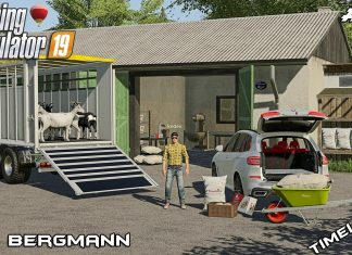 Buying GOATS and baking BREAD with @kedex | Hof Bergmann | Farming Simulator 19 | Episode 12