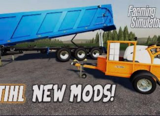 FS19 | STIHL NEW MODS! | (Review) Farming Simulator 19 | 15th June 2021.