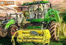 LS19 XXL Farm 2 #39: Gras-Häcksel-Showdown im Sonnenuntergang + Hofausbau | FARMING SIMULATOR 19