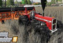 New Mods! Massey 296, 4X Console Map, & More! (12 Mods)   Farming Simulator 19