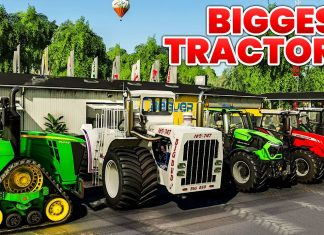 Top 10 Biggest Tractors in the World on Farming Simulator 19