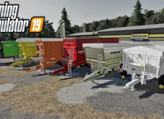 New Mods! Custom Trailers, American Shed, + Wosnice! (4 Mods)   Farming Simulator 19